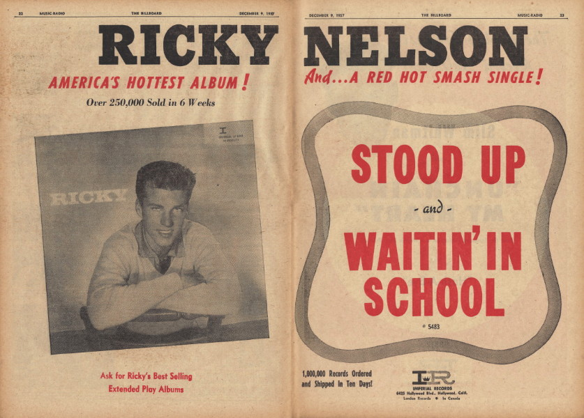 ricky nelson the best of