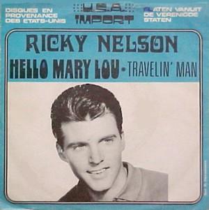 ricky nelson hello mary travelin release